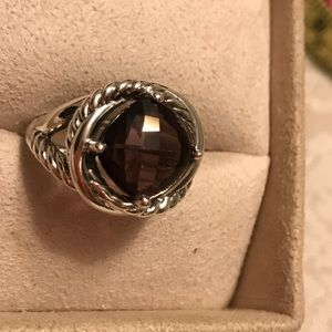 Authentic David Yurman Ring w/ Amethyst Stone